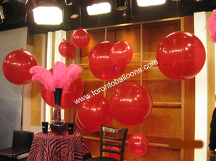 Toronto Balloons does Balloon Decorations, Balloon Arches plus